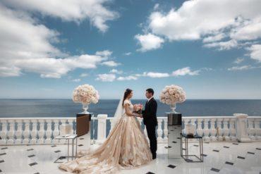 Свадьба на вилле в Крыму