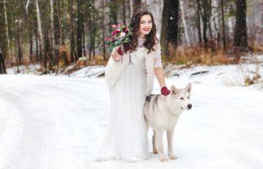 Свадьба зимой: рекомендации