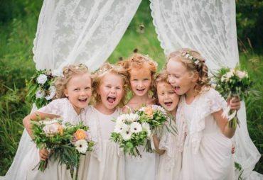 Детские развлечения на свадьбе