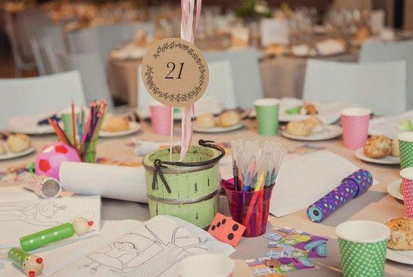 Занятия на для детей на свадьбе